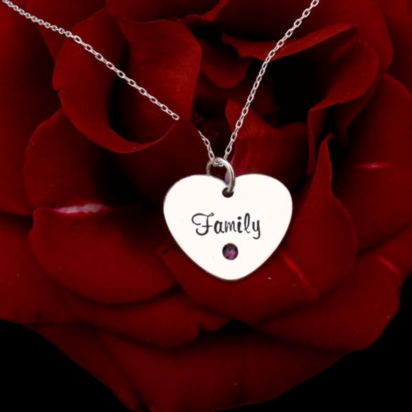 Familly – colier personalizat din argint
