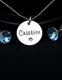 Blue - set argint 1