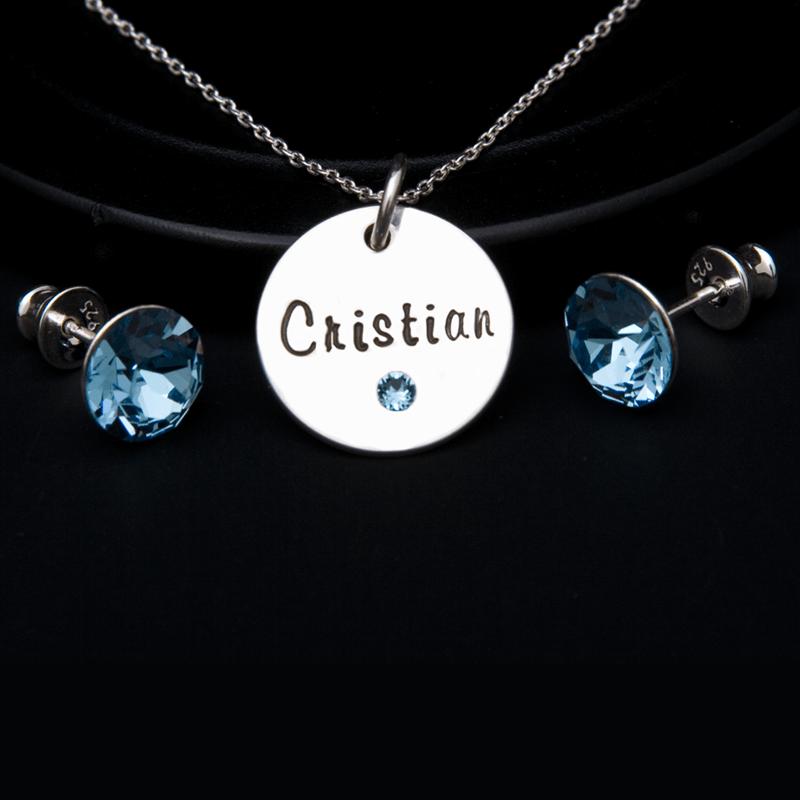 Blue - set argint 2
