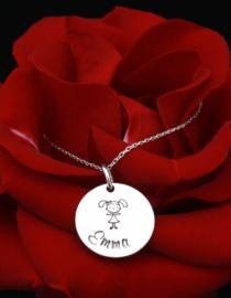 Infinity - colier personalizat din argint 1