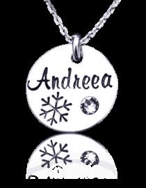 Winter - colier personalizat din argint