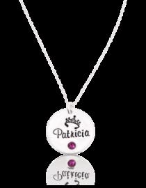 Patricia – colier personalizat din argint