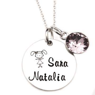 Child – colier personalizat din argint