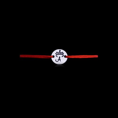 Unique - Bratara cu snur rosu personalizata