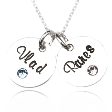 Mother – colier personalizat din argint